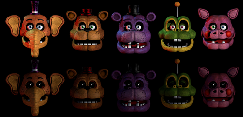Mediocre Melodies but it's fnaf 1 by CoolioArt