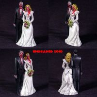 Zombie Wedding Cake Topper by Undead-Art