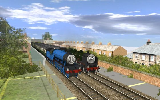 The Rivalry of Gordon and Reginald by MarcoE424