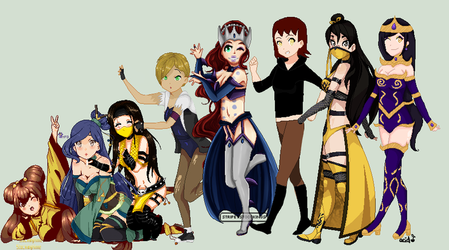 :|Mortal Kombat Oc Collab|: CLOSED by Stockinghime