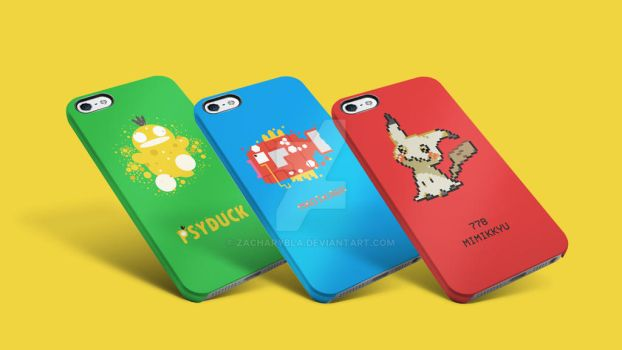 Pokemon Phone Case by zacharybla