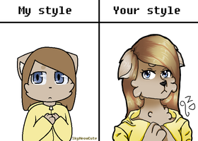 My Style Vs Your Style by Nobert2005