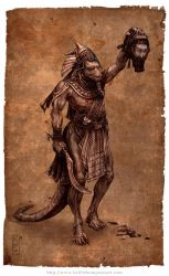 Reptile Hyksos by Keithwormwood