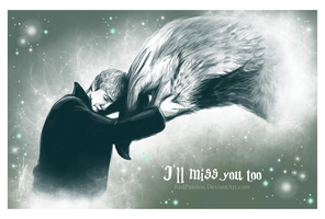 Newt and Frank - I'll miss you too by RedPassion