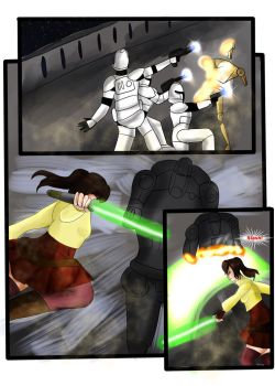 Star Wars comic AU The Good Soldier page 11 by DaiseyMae