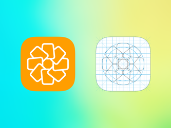IOS photos icon v2 by AndreyRudenko