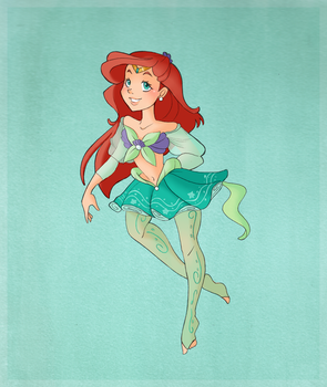 Sailor Ariel by VioletKy