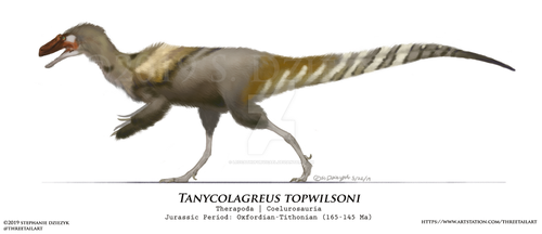 Tanycolagreus topwilsoni by LeccathuFurvicael