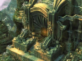 The Gate by Endre Barath by blender3d