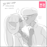 RocKris Challenge - No.5 - Kissing by WHPLEFCT