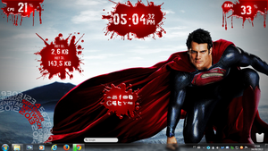 Superman Rogers1967 Rainmeter by Rogers1967