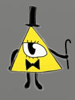 Bill Cipher by Fennevee