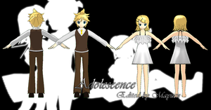 MMD Adolescence Rin and Len by Mayuen
