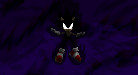 Dark Super Sonic Wallpaper By BlueSuperSonic