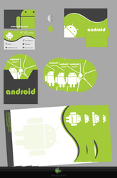 Android company-packege-design by sharplookart