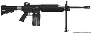 Belt Fed M-4A1 by GeneralTate