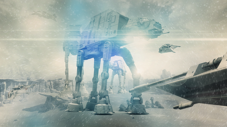 First Contact On Hoth by Aste17