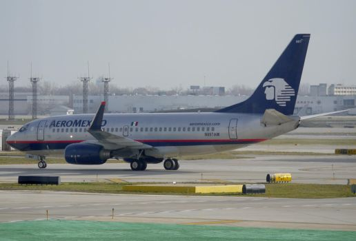 Boeing 737-700 AeroMexico by shelbs2