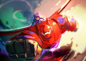 big hero 6 by Garmmon