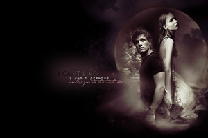 Katniss + Peeta - I can't live by GotMyAddictions