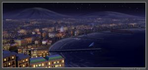 EH - The City at Night by owen-c