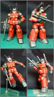 RX-77-2 Guncannon from Gundam 0079 by BazSg