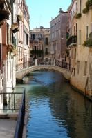 Venice Canal and Bridge by archistock