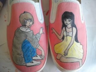 Anime Shoes by YumiARTs