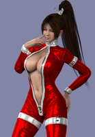 Mai Shiranui 04 by DragonLord720