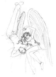 Angel on your bed 2 I by finieramos