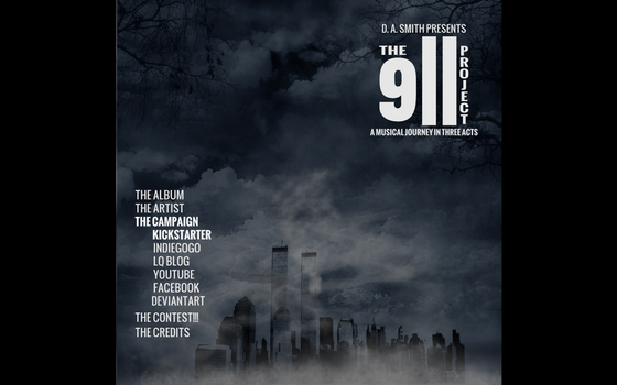 The 9/11 Project Web Site Mockup #4 by Mechatherium