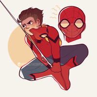 MARVEL: Late For Hero-ing by actuallyacorpse