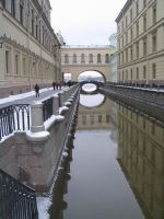 Canal in st. Petersburg by lami