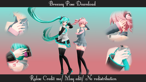 Breezey Pose Download by SmolSpoon