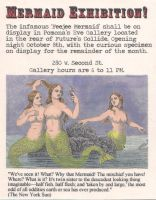 Mermaid Exhibition Flyer by tursiart