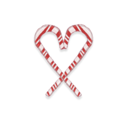 Candycanes PNG by Hicka01