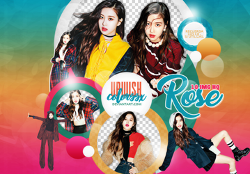 ROSE PNG PACK#2/BLACKPINK/CECI by Upwishcolorssx