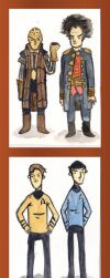 Sci-Fi Duos by neworlder