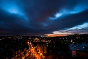 Cloudy Christmas Eve 2015 in Wuppertal by Janszoon