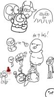 More crappy TBOI doodles by xRibbon-Candyx