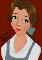 Belle from Beauty and the Beast by SamaShaar