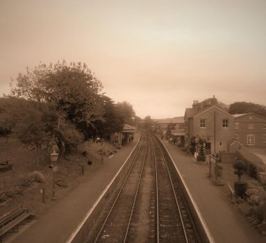 One view of Ropley station by FFDP-Neko