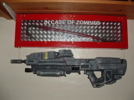 MA37 Assault Rifle - Halo Prop by Flyntendo
