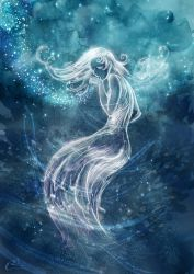 The blue Lady - Magic (boredom) by Agalanthe