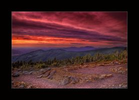 A Sunrise In the Wilderness by kkart