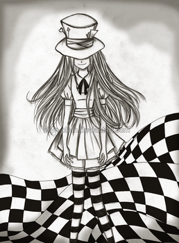 Creepy Alice by Eilyn-Chan