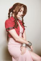 The Last Ancient - Aerith from Final Fantasy VII by TotallyToastyAri