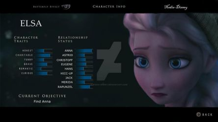 Elsa Character Traits by Nadia-Disney