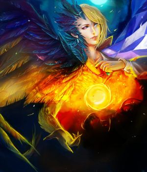 Howl- The Light and The Dark by YETI000