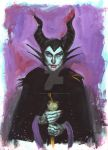 Maleficent and Diablo by Michael Gaydos